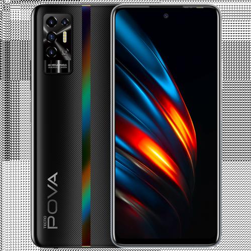 POVA 2 - Dazzle Black - 128GB ROM + 6GB RAM