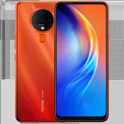 SPARK 6 - برتقالي - 4 GB + 128 GB