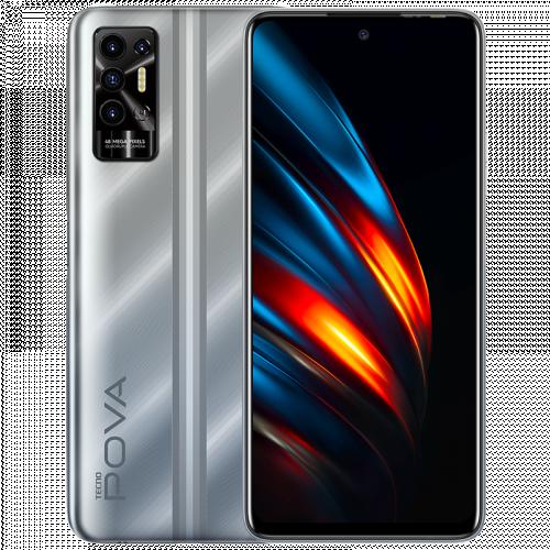 POVA 2 - Polar Silver - 6 GB + 128 GB