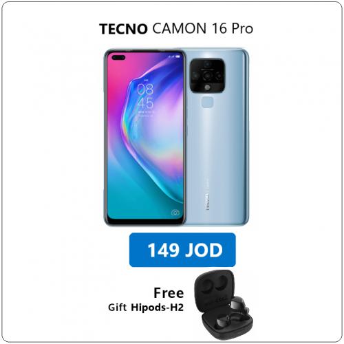 CAMON 16 Pro -  Crystal Ice Blue